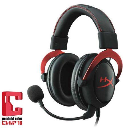 Słuchawki HyperX Cloud II Red 7.1