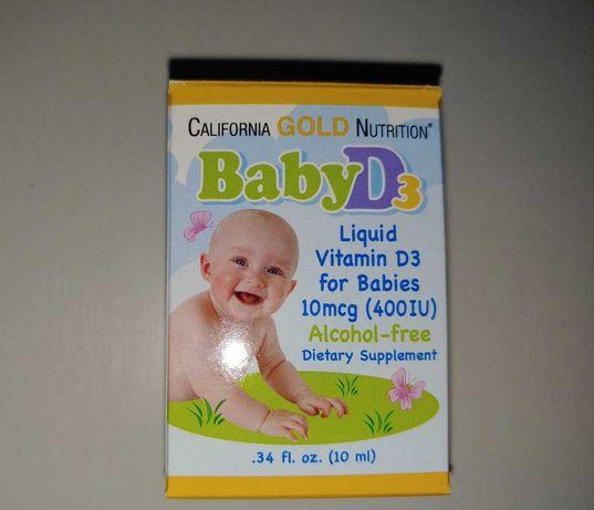 Витамин D3 для детей iherb