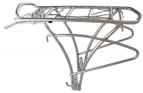 Bagażnik do sakw pasuje do 24 do 28 tylny KW-652 aluminiowy inBike