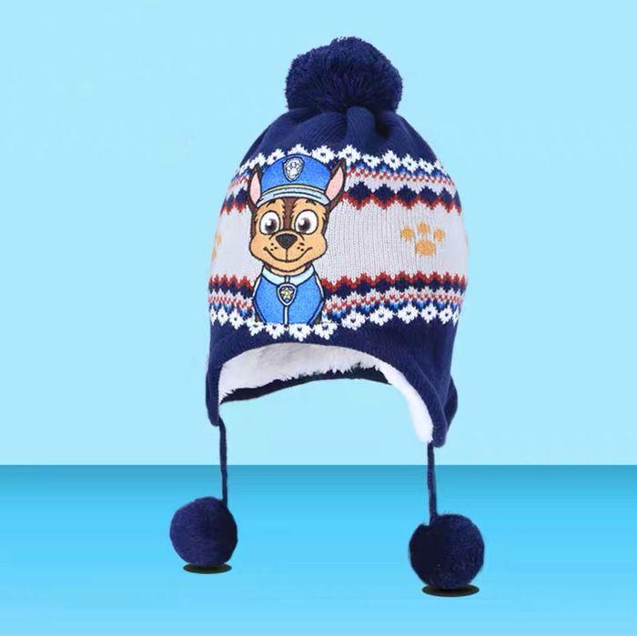Детская теплая шапка щенячий патруль рокки; 3-8 лет Киев - изображение 1