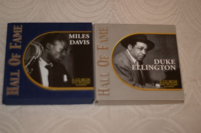 Sprzedam dwa 5 CD BOX Hall Of Fame< Miles Davis i Duke Elington
