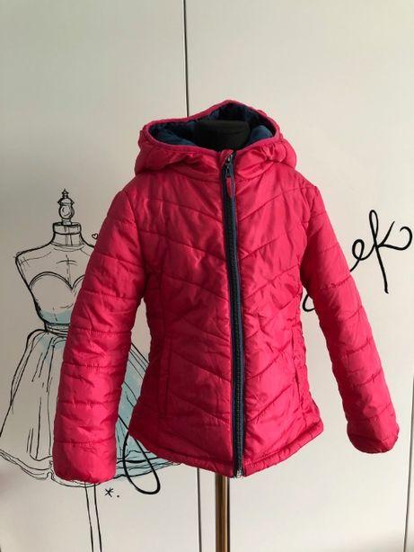 Różowa kurtka dziewczęca firmy Terranova 6-7 lat 116-122