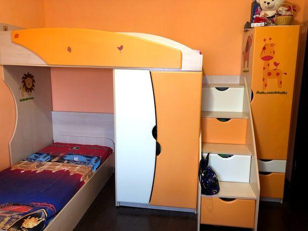 Детская мебель, двухъярусная кровать