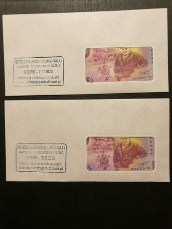 Banknoty 0 euro Jan Paweł II Wadowice