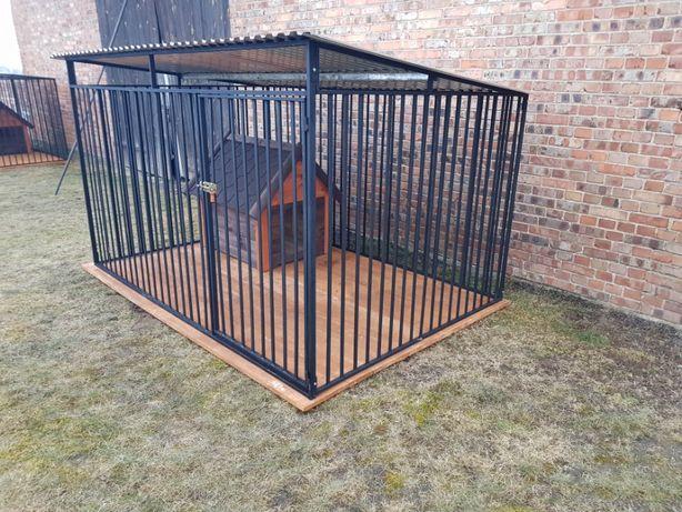 kojce dla psów, kojec dla psa, klatki boksy box zagroda profil zamknię