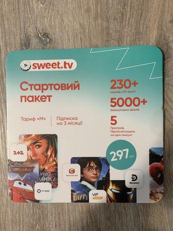 Стартовые пакеты Sweet.tv