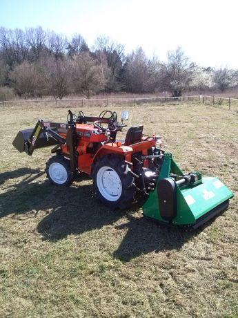 Usługi mini traktorem , glebogryzarką, koszenie traw, prace ogrodnicze