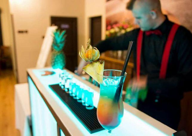 Barman Mobilny barman Drink bar ,Barman na wesele Luksusowy miksss