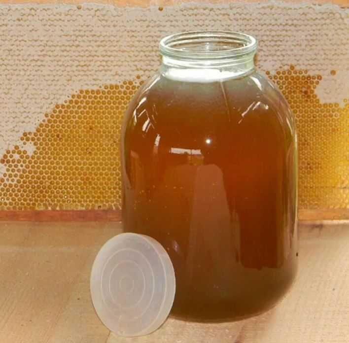 Натуральний Мед/Натуральный Мёд з власної пасіки(Соняшник+різнотрав'я)