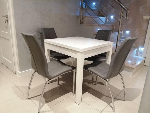 Stolik stół biały kwadratowy mały do kuchni jadalni 80 cm