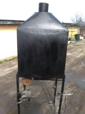 Kuznia kowalska wyposażona odciak /daszek
