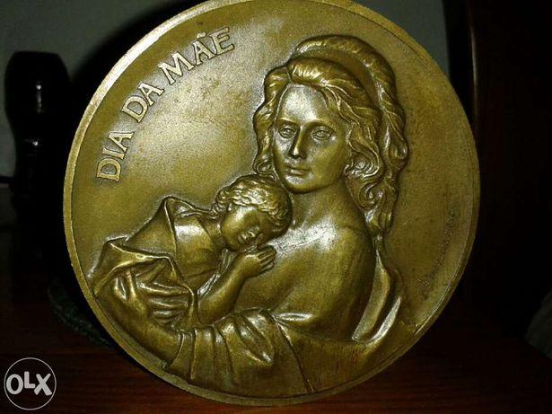 Colecao de 20 Medalhoes em bronze