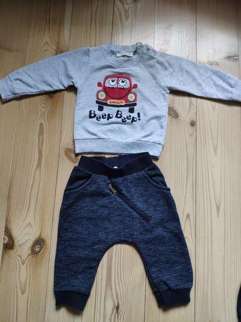 Komplet dres breeze r.74 joggery bluza