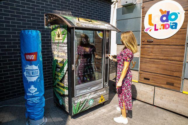 Poszukujemy lokalizacji pod automaty sprzedające produkty konopne