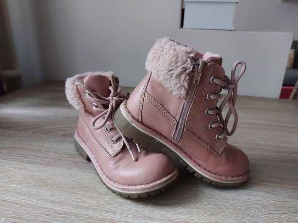 Buty trzewiki zimowe dziewczęce 29 dziewczynka