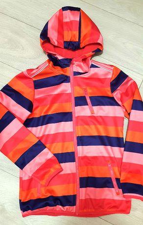 CRIVIT kurtka softshell 10-12lat r.146/152 kolory pasy ciepła