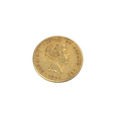 Moeda Ouro D. Pedro V