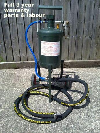 Máquina de decapagem Bicarbonato de sódio e abrasivos combinados