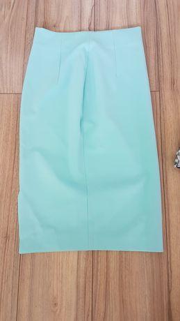 Spódnica  miętowa Zara