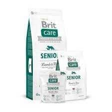 Корм Brit Care Senior Lamb & Rice (для пожилых собак всех пород) 12 кг