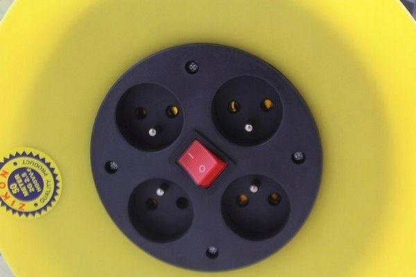 przedłużacz bębnowy na BĘBNIE 50m 3x2,5