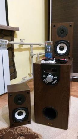 sven btr 2-10 колонки сабвуфер 2.1 система акустика