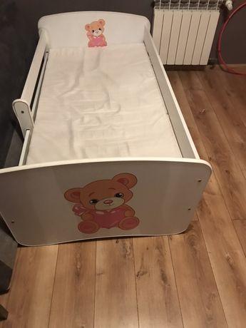 Łóżko dziewczęce z materacem