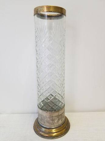 Старинная ваза завода художественной гравюры