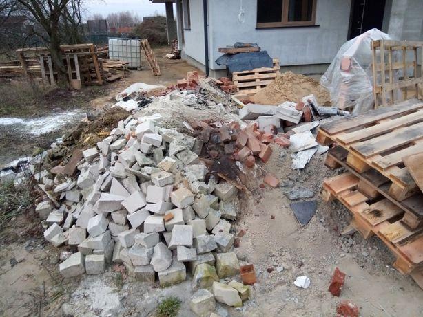 Oddam odpady budowlane / gruz / cegła, dachówka itp