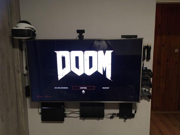 Uchwyt box TV, podwieszana konsola, pady, XBOX, PS3, PS4 i inne