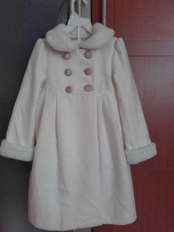Płaszczyk + sukienka -komplet jesienno-zimowy