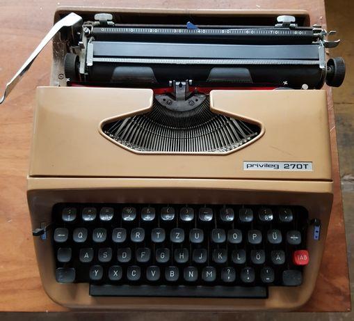Maszyna do pisania retro Privileg 270T