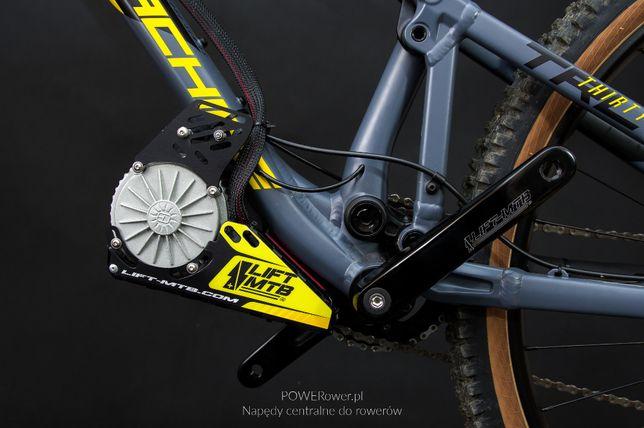 Silnik napęd do roweru MID drive Lift-MTB + bateria 412 Wh TANIEJ!