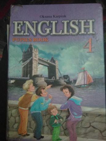 Англійська мова 4 клас О.Карпюк 2009р