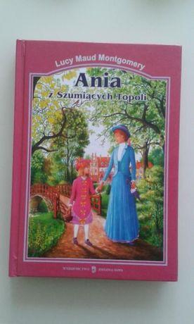 Książka L.M. Montgomery - Ania z Szumiących Topoli - jak NOWA!