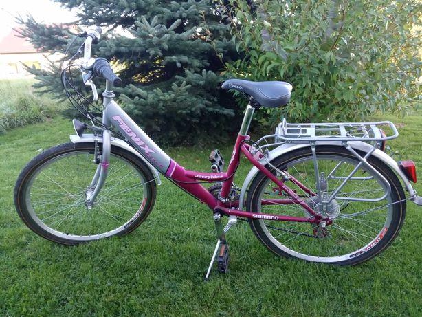 """rower 24"""" dla dziewczynki"""