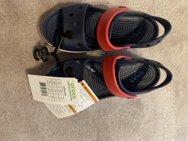 Новые сандали босоножки кроксы crocs оригинал
