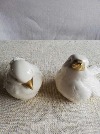 Porcelanowe ptaszki firmy Goebel.