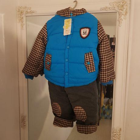 Зимний костюм на мальчика 3 года