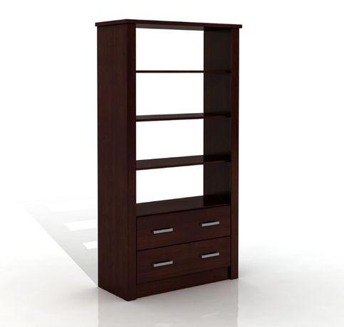 Regał drewniany - sosnowy FADO 2S