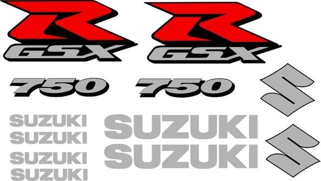 Naklejki SUZUKI GSXR 750 GSX-R NA Motocykl Motor - Folia Długoletnia !