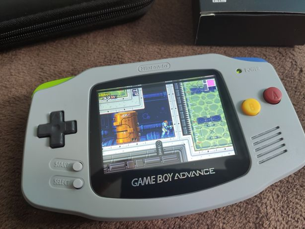 GBA Nintendo GameBoy advance IPS V2 ez-flash omega