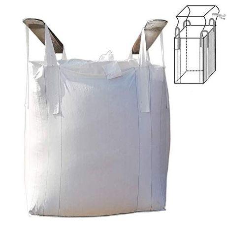 Nowy Worek Big Bag 100/100/95 cm Z Fartuchem zasypowym 1000 kg