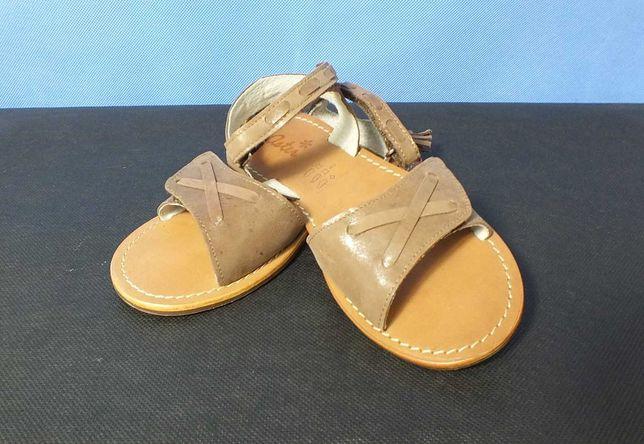 Skórzane sandały (roz. 32)