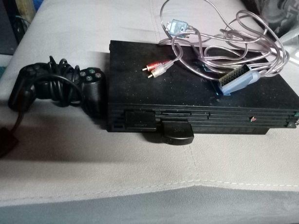 Playstation 2 com comando
