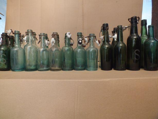 Stare butelki bez napisu