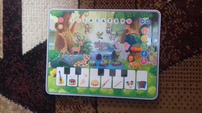 Музыкальный обучающий планшет