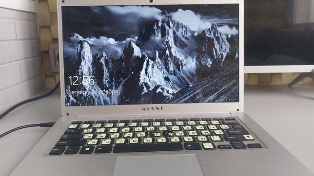 Ультратонкий Kiano Slim note 14.2, Z8350/2048MB/32GB/Windows 10 Home