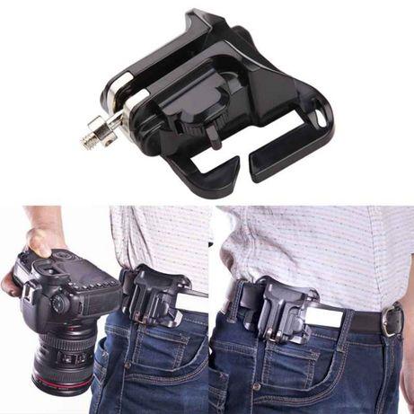 Система для крепления фотоаппарата на пояс
