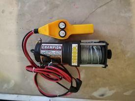 wyciagarka wciagarka 2000lb 907kg 12v elektryczna nowa